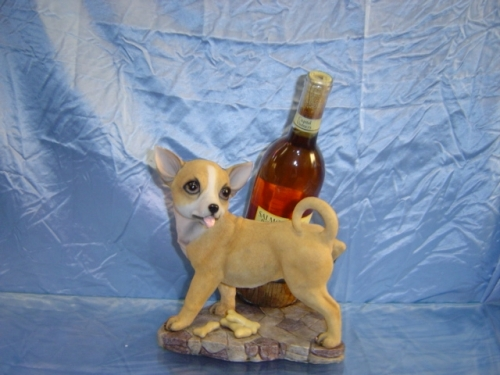 Chihuahua Wine Holder