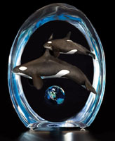 """Enduring"" Orcas Sculpture"