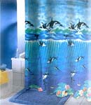 Orca Whale Shower Curtain